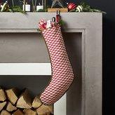 Crate & Barrel Feliz Stocking