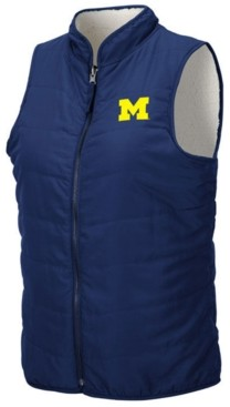 Colosseum Women's Michigan Wolverines Blatch Reversible Vest