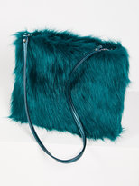 Free People Ziggy Faux Fur Clutch