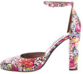 Tabitha Simmons Patterned Petra Round-Toe Pump