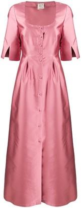 L'Autre Chose Long Shantung Dress