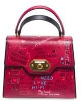 Dolce & Gabbana Classic Graffiti Top Handle Bag