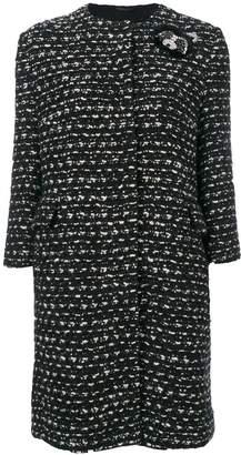Ermanno Scervino tweed cropped coat