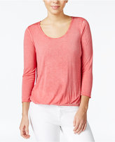 Jessica Simpson Layered-Look Open-Back Top
