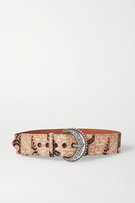Etro Jacquard Belt - Pink