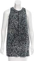 Burberry Abstract Print Sleeveless Tunic