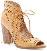 Restricted Weekday Lace-Up Block Heel Sandal