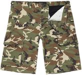 Replay Camouflage Stretch Bermuda Shorts