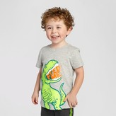 Cat & Jack Toddler Boys' Dinosaur Graphic T-Shirt Cat & Jack - Grey