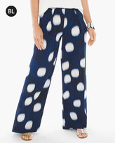 Chico's Printed Wide-Leg Pants