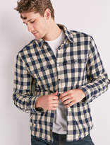 Lucky Brand Plaid Shirt Jacket