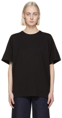 Totême Black Oversized T-Shirt