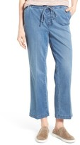 NYDJ Women's Wide Leg Stretch Denim Ankle Pants