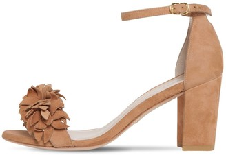 Stuart Weitzman 75mm Suede Sandals