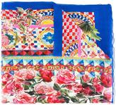 Dolce & Gabbana Mambo print scarf - women - Silk/Cotton - One Size