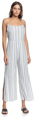 Roxy Feelings Catcher Stripe (Anthracite Beach Stripes) Women's Dress