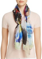 Echo Cuba Bloom Print Square Scarf
