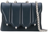 Marco De Vincenzo paw detail shoulder bag - women - Leather - One Size