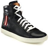 Bally Olir Perforated Hi-Top Sneakers