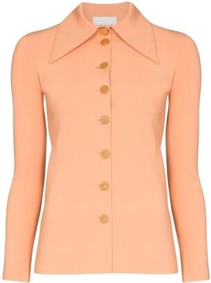 A.W.A.K.E. Mode Wide Collar Button-Up Shirt