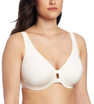 Maidenform Women's Dream Punge into Comfort Keyhole Minimiser Animal Print Everyday Bra, Off-White (Ivory)