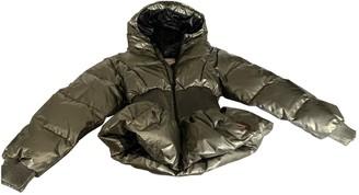 Hunter Gold Cotton Coat for Women