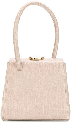 Little Liffner Mademoiselle embossed leather bag