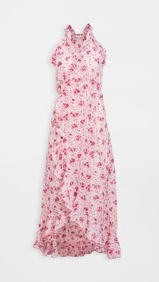 Poupette St Barth Tamara Ruffled Long Dress