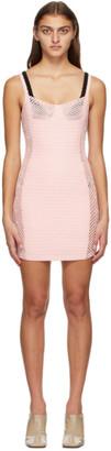 Isa Boulder SSENSE Exclusive Pink Camera Dress