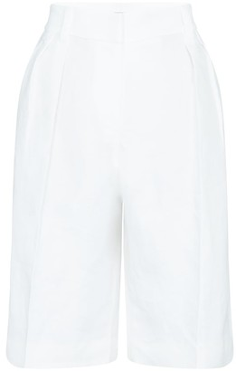 Brunello Cucinelli Linen Bermuda shorts