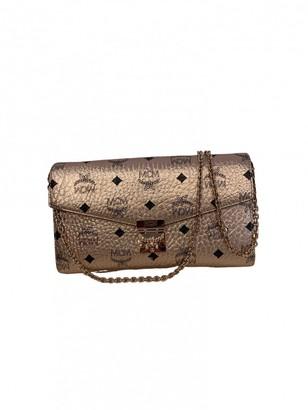 MCM Millie Metallic Leather Handbags