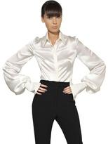 Alexander McQueen Silk Satin Shirt