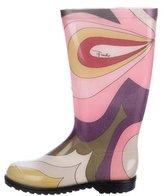 Emilio Pucci Rubber Rain Boots