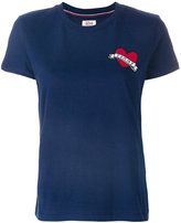 Tommy Hilfiger logo patch T-shirt
