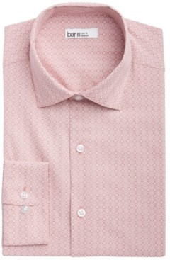 Bar III Men's Retro Medallion Print Slim Fit Dress Shirt, Created for Macy's