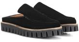 Ganni Mimi velvet slippers