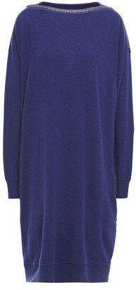 Gentry Portofino Gentryportofino Crystal-embellished Wool And Cashmere-blend Dress