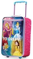 """Disney Princess 18"""" Rolling Suitcase by American Tourister"""