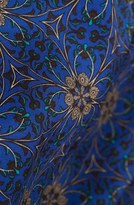 Topshop 'Spider Floral' Print Jumpsuit