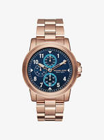 Michael Kors Paxton Rose Gold-Tone Watch