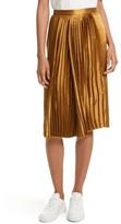 Public School Women's Gamil Pleated Silk Skirt