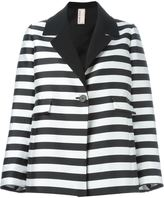 Antonio Marras striped jacket - women - Cotton/Polyamide/Polyester/Viscose - 42