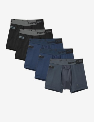 Tommy John 360 Sport 2.0 Pocket Trunk 5 Pack