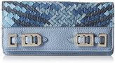 Nine West Gleam Team Slgs Deluxe Continental Wallet