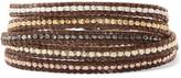 Chan Luu Gold-Plated Woven Beaded Bracelet