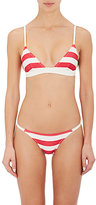 Solid & Striped WOMEN'S MORGAN STRIPED BIKINI TOP