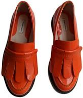 Carven Orange Patent leather Flats