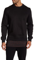 Eleven Paris ELEVENPARIS Layered Crewneck Sweater