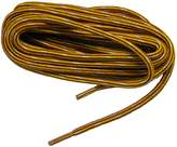 Sport28 63 Inch Gold yellow w/ Brown Heavy Duty Kevlar Reinforced Boot Laces Shoelaces (2 Pair Pack)