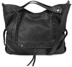 Kooba Jagger Convertible Leather Satchel